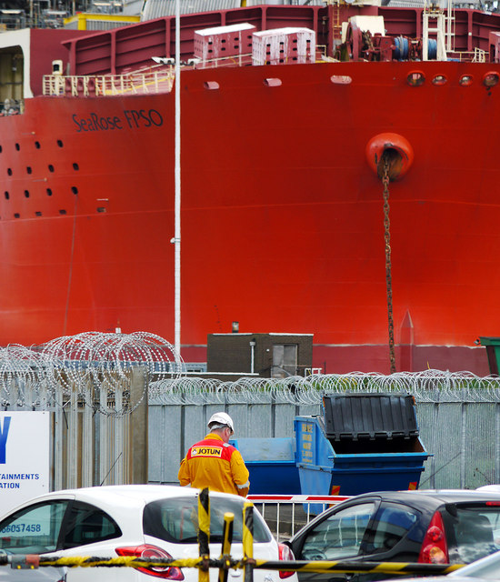 The 'SeaRose FPSO' at Belfast