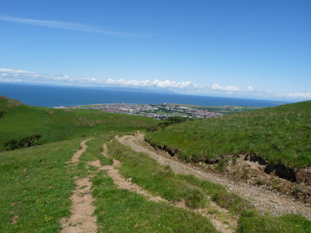 Girvan Hill Path