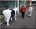 J3271 : 'CowParade' cow, Belfast by Rossographer