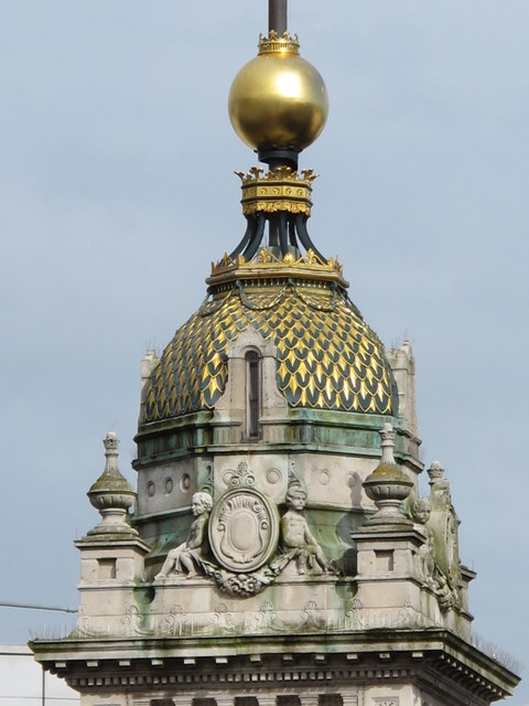 The top of the Clock Tower