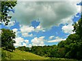 SO9203 : Skies over Siccaridge Wood, near Frampton Mansell by Brian Robert Marshall