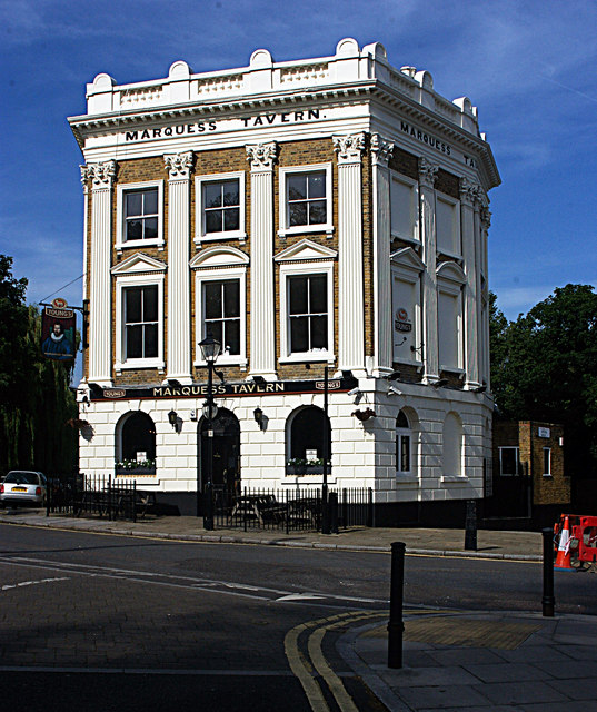 Marquess Tavern, Canonbury (1848)