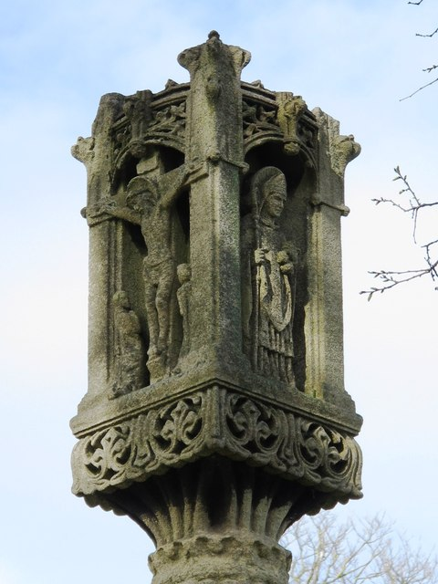 St. Nicholas' Church, Dyke Road, BN1 - top of cross in churchyard
