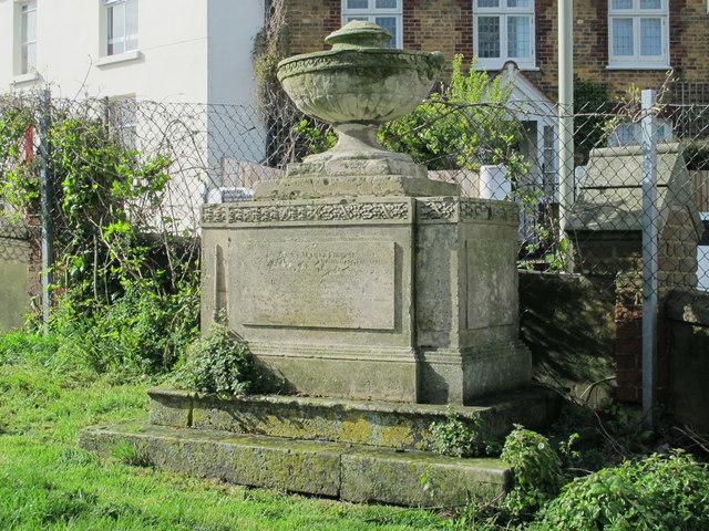 Monument to Anna Marie Crouch, St. Nicholas' Church, Dyke Road, BN1
