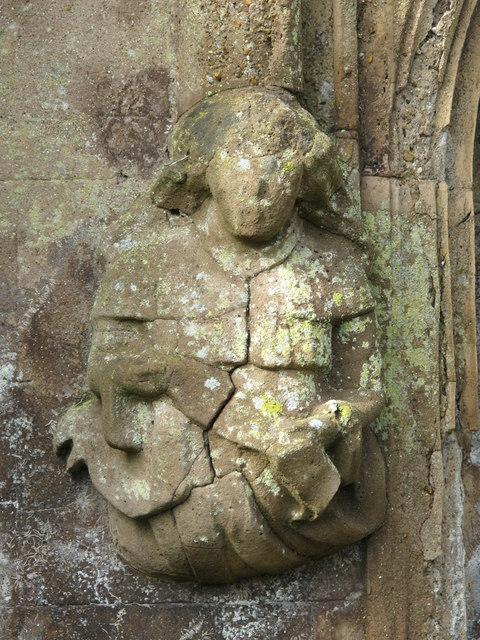 Stone carvings in St. Nicholas' Rest Garden, Dyke Road, BN1
