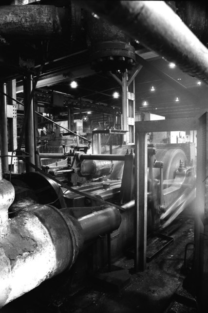 British Steel Corporation Moss Bay Works - steam rolling mill engine