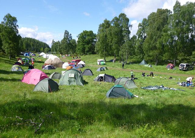 Insider Festival 2012 campsite