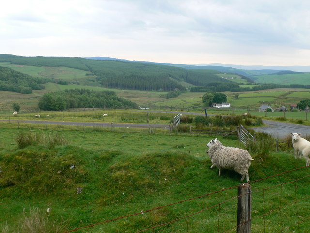 View of Alwen Valley