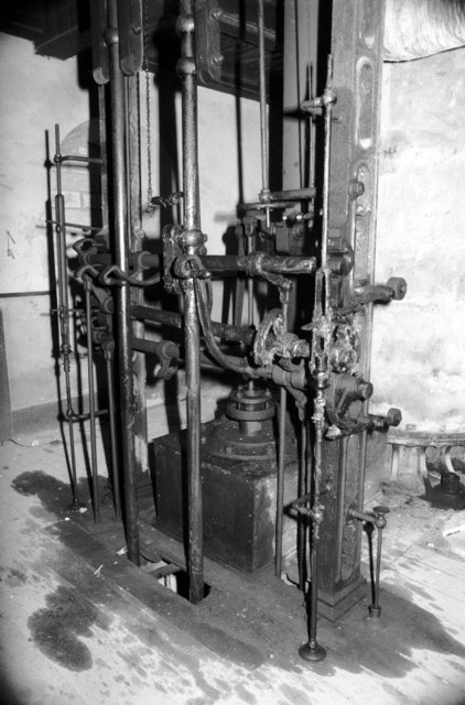 Goonvean China Clayworks - Cornish beam engine