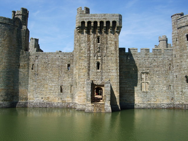 Bodiam Castle south gate