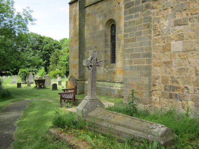 The south west corner of St Martin's church, Seamer