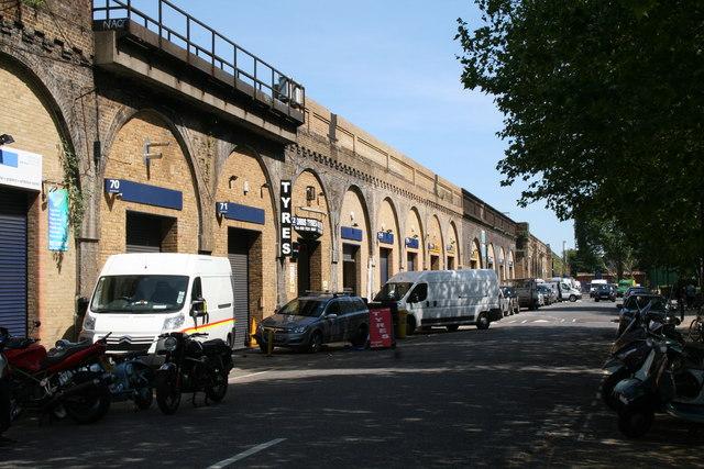 Bermondsey:  Enid Street