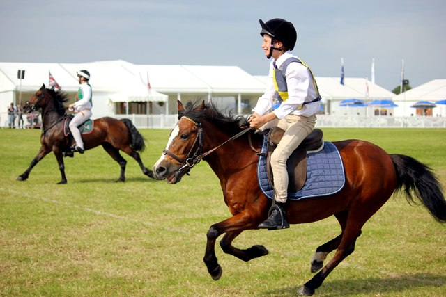 Pony Club Games at the Cheshire Show