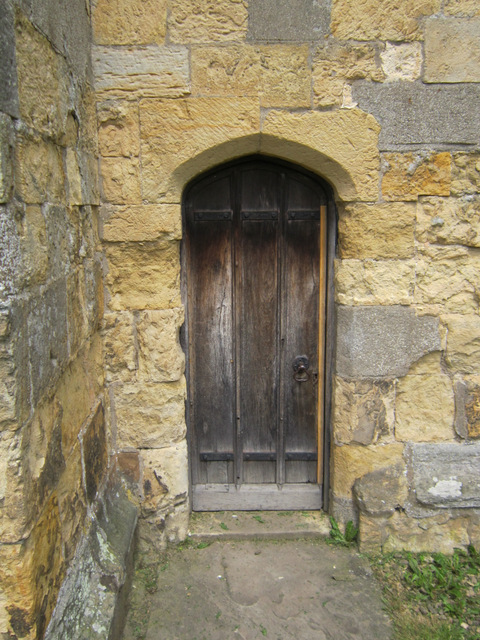 Priest's door of St Martin's, Seamer