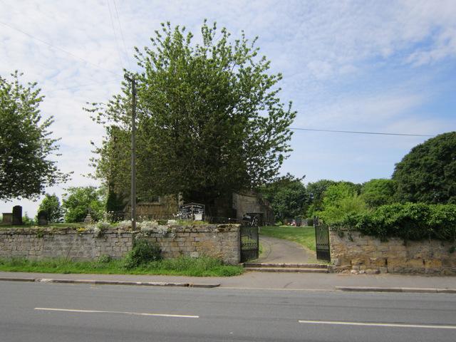 St Martin's gateway, Seamer