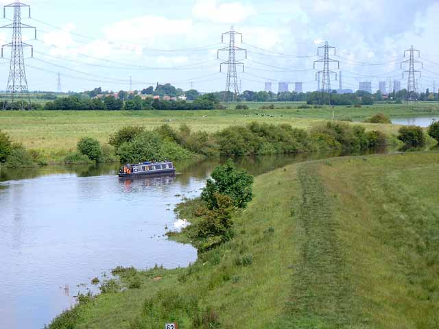 Meanders on the River Trent