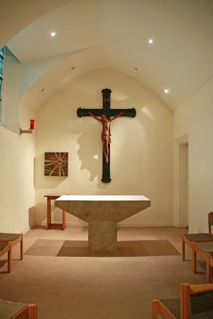 St John, North End Road, Fulham - Blessed Sacrament Chapel
