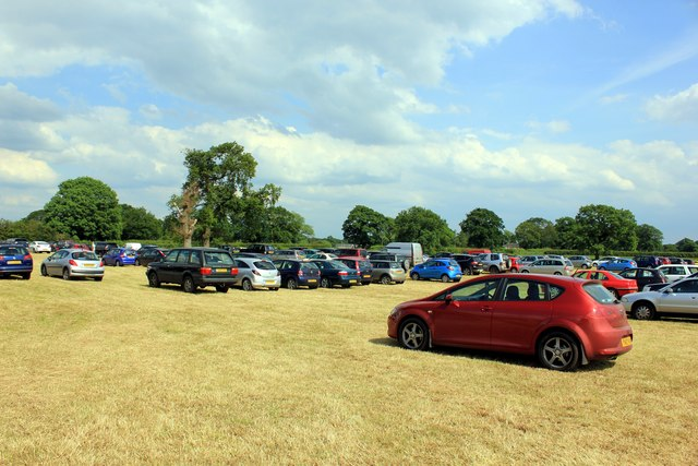 Car Park at the Cheshire Show