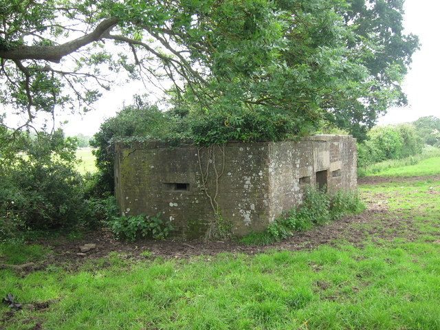 Pillbox by Barcombe Mills Road