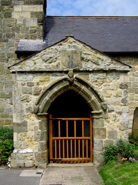The porch of St Peter's, Willerby