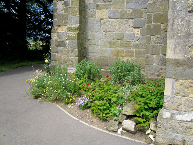The base of St Peter's tower, Willerby