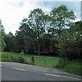SE2200 : Gate into farmland alongside the A616 by Steve  Fareham