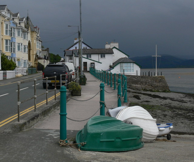 The seafront of Aberdovey