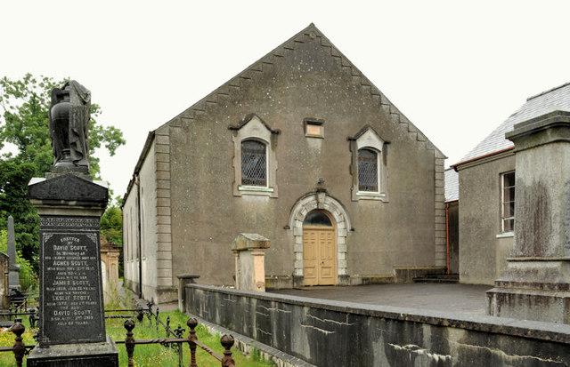 The former Second Boardmills Presbyterian church, Boardmills