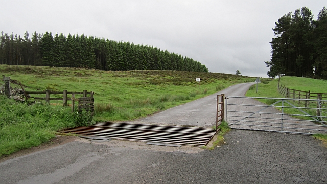 Cattle grid, Sheriff Muir
