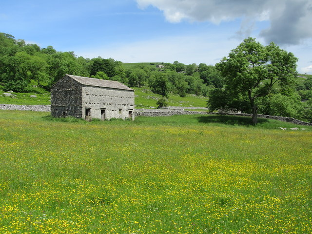 Stone Barn near Stubbing Bridge