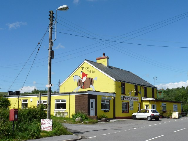 The Prince of Wales Inn, Princetown, Tredegar