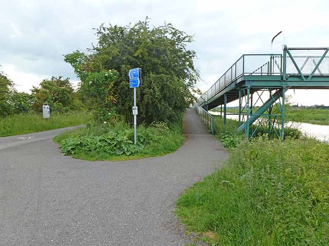 Footbridge over the River Witham