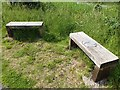 TF0671 : Wayside benches on the Water Rail Way by Oliver Dixon