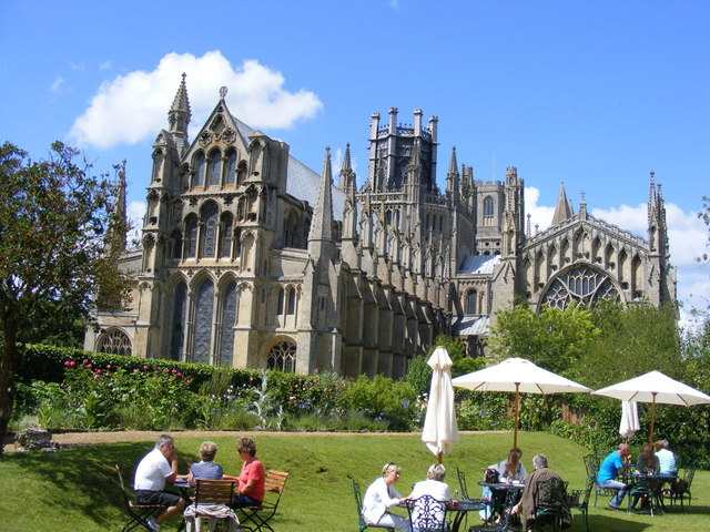 Rear view of ELY Cathedral.