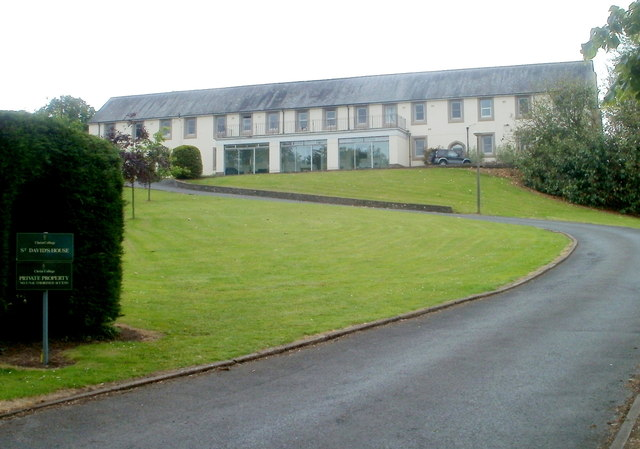 St David's House, Llanfaes, Brecon