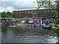 SJ9690 : Annual raft race by Bob Abell