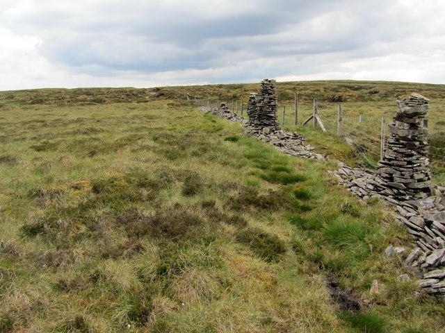 Stone Men of Yockenthwaite Moor