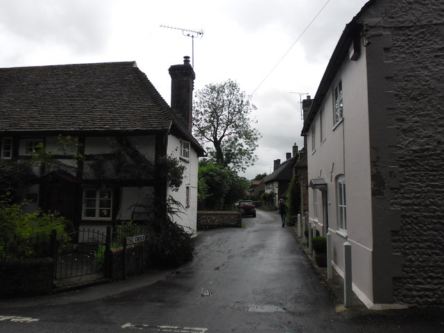 Looking from the Petersfield Road into The Cross