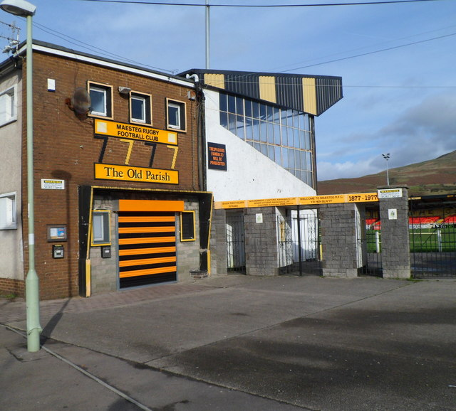 Entrance To Maesteg RFC Ground © Jaggery Cc-by-sa/2.0