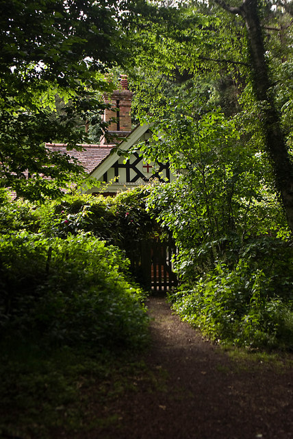 Lodge, Highgate Wood