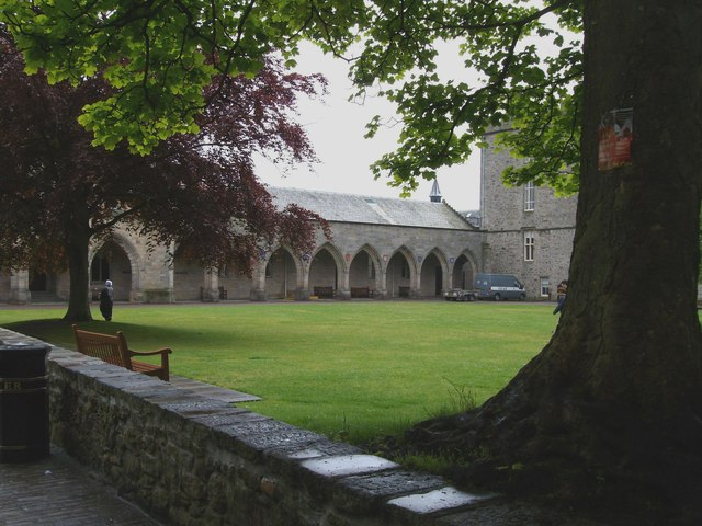 View towards the Cromwell Tower,University of Aberdeen