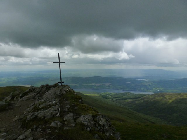 Cross on Ben Ledi
