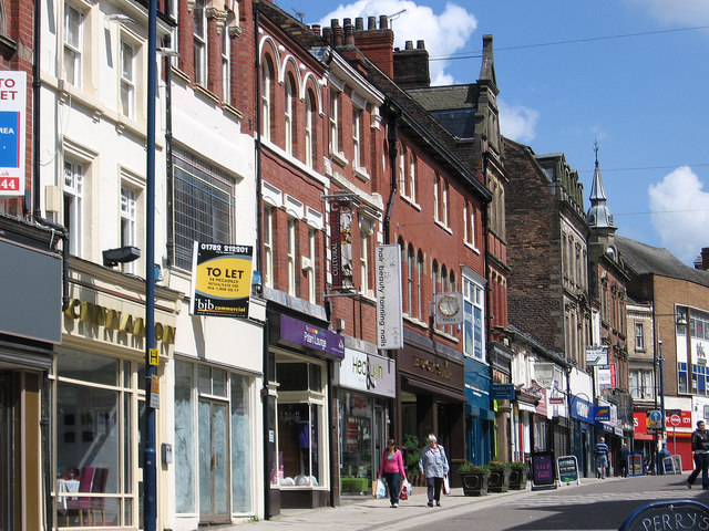 Hanley - shops on Piccadilly