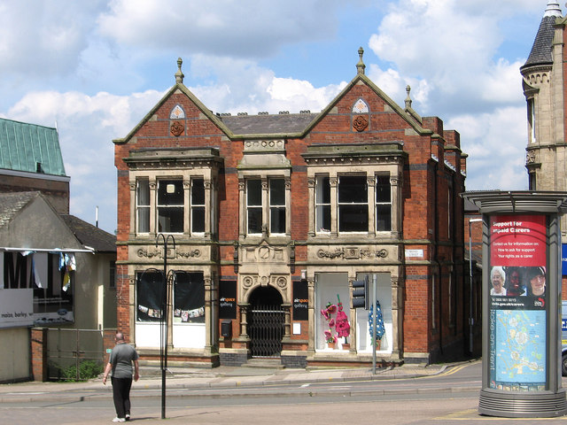 Hanley - former Mineworkers Union offices