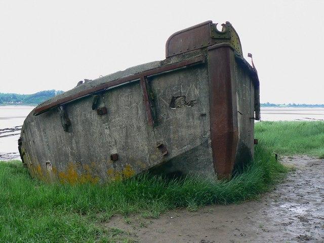 Hulk, Ships Graveyard, Purton, Gloucestershire (7)