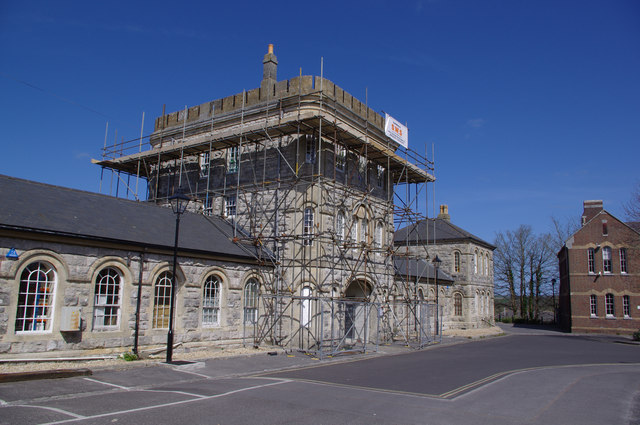 Dorchester - Building Under Repair