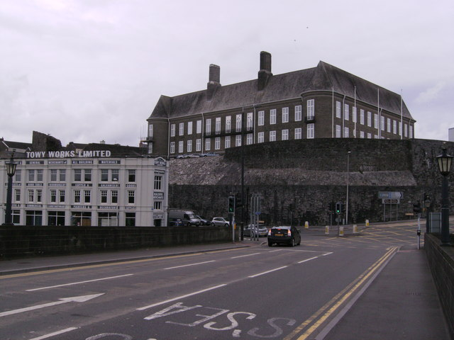 County Hall Carmarthen