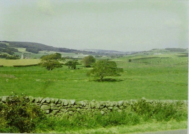 The Quernmore valley in 1986