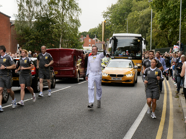 The Olympic Torch Relay, Bury Old Road