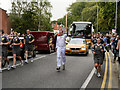SD8204 : The Olympic Torch Relay, Bury Old Road by David Dixon